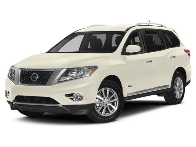 2015 Nissan Pathfinder Hybrid VUS Argent brillant métallisé